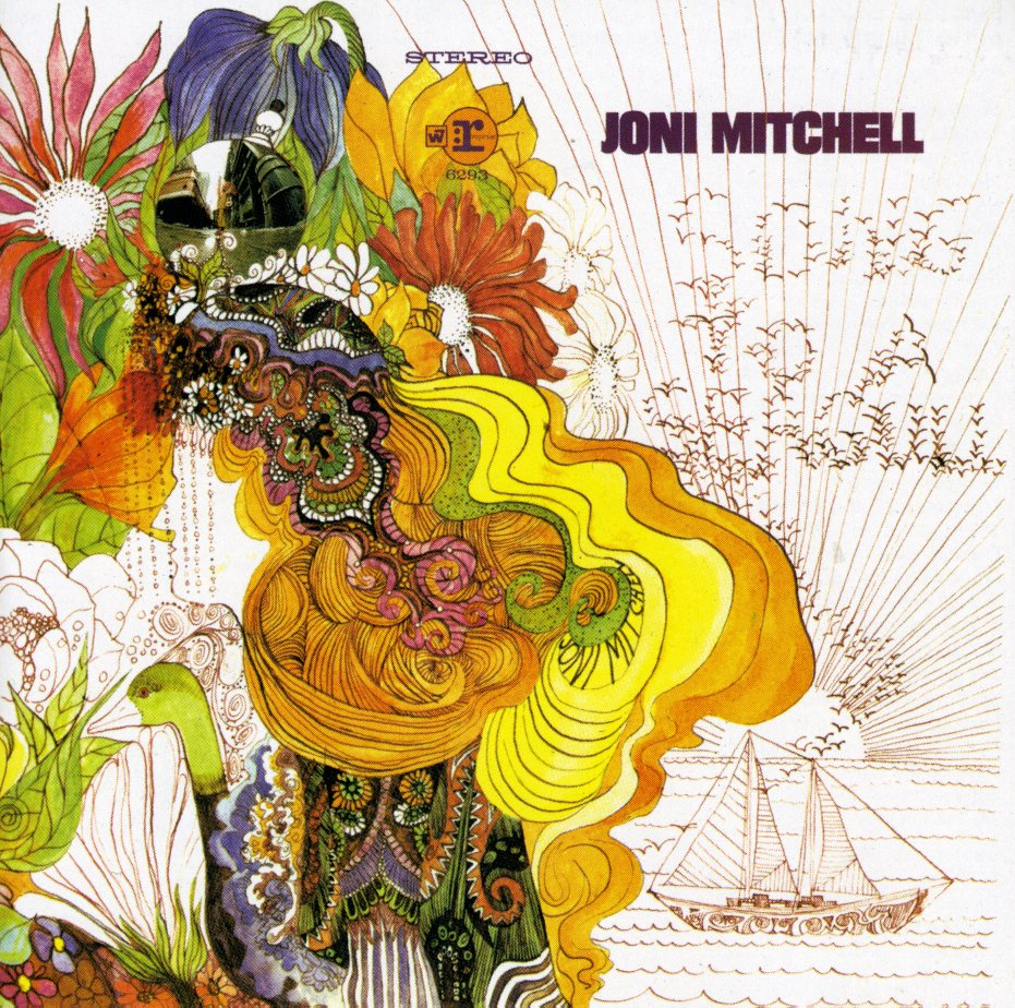 Best ever psychedelic album covers – Joni Mitchell 'Song ...  Best ever psych...