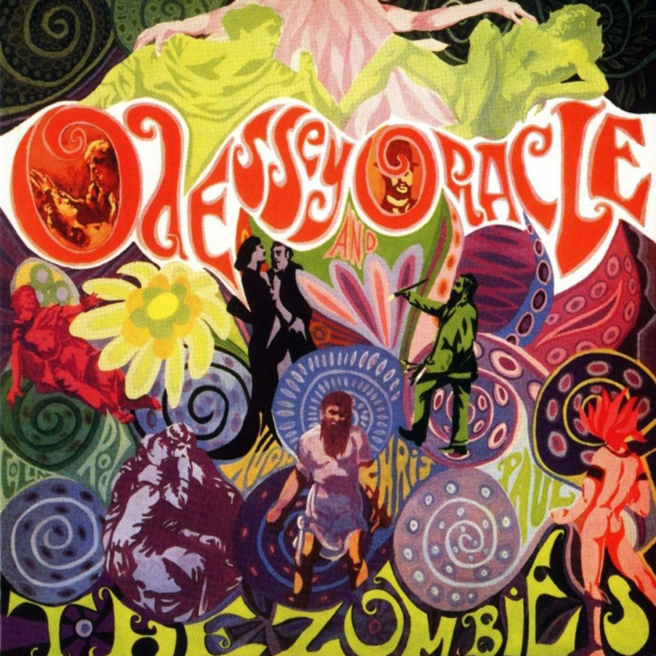 Best Ever Psychedelic Album Covers The Zombies Odessey