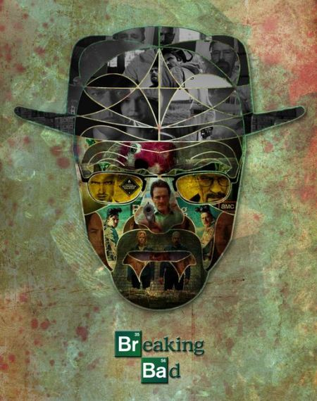 breaking bad collage