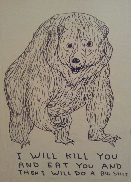 david shrigley bear