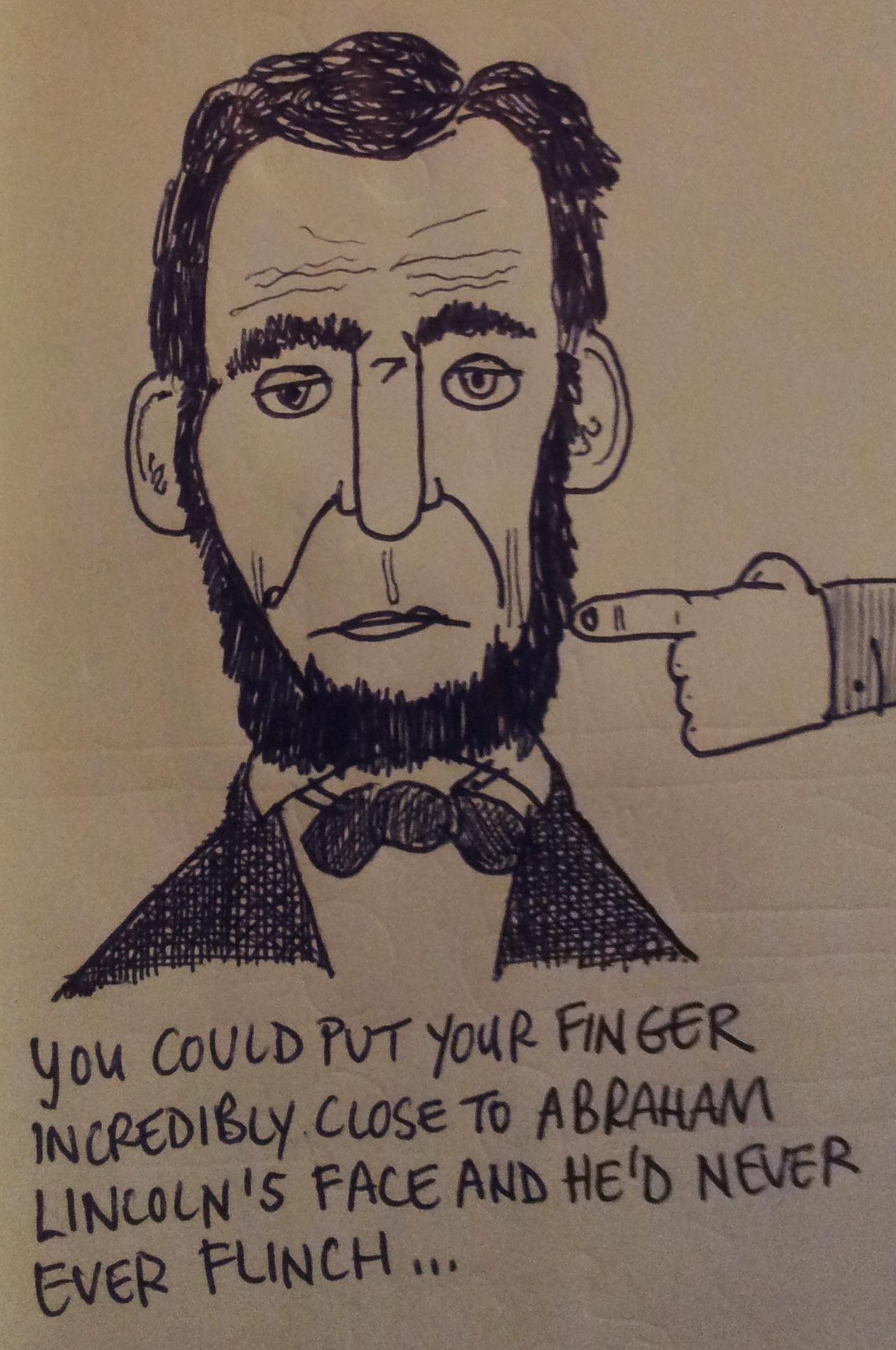 Rare Abraham Lincoln Factoid Slacker Shack