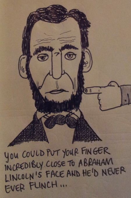 abraham lincoln cartoon