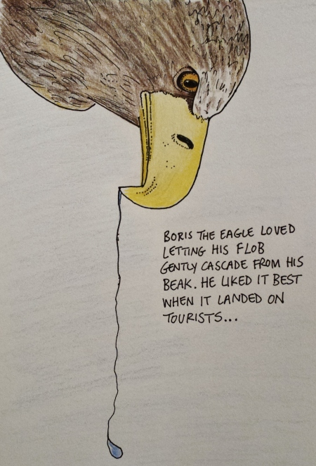 Boris the eagle