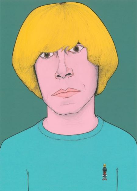 Tim Burgess - portrait