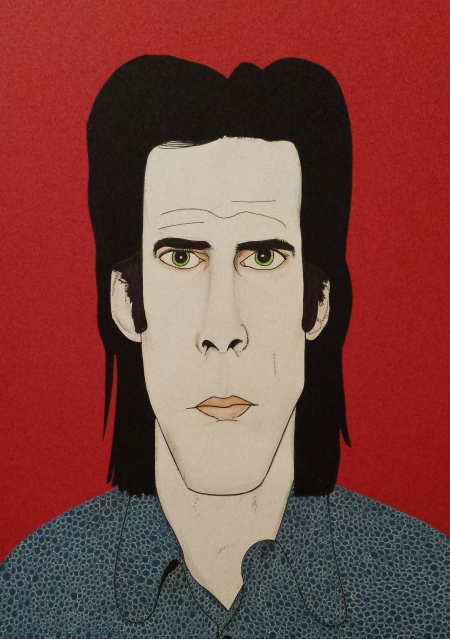 Nick Cave portrait