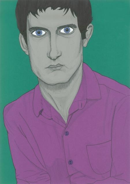 Ian Curtis - portrait