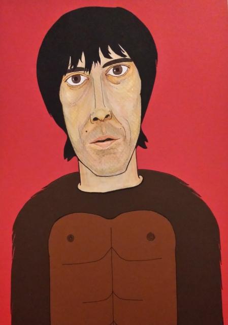 Ian Brown portrait
