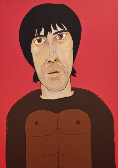 Ian Brown portrait