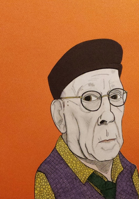 Ivor Cutler portrait