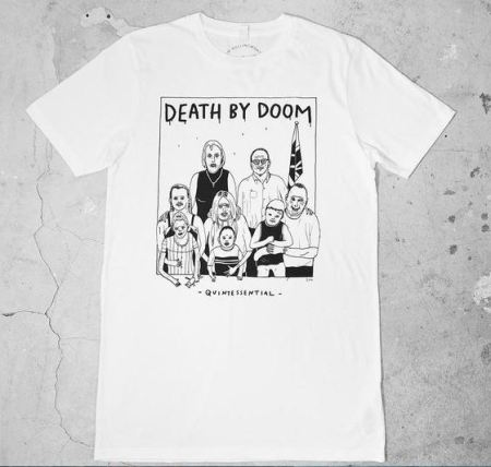 Death By Doom t-shirt