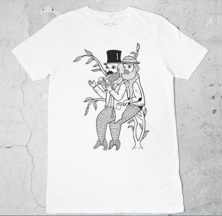 Merman Mugging t-shirt