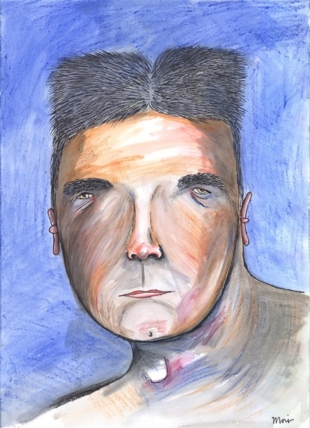 Simon-Cowell by Vic Reeves